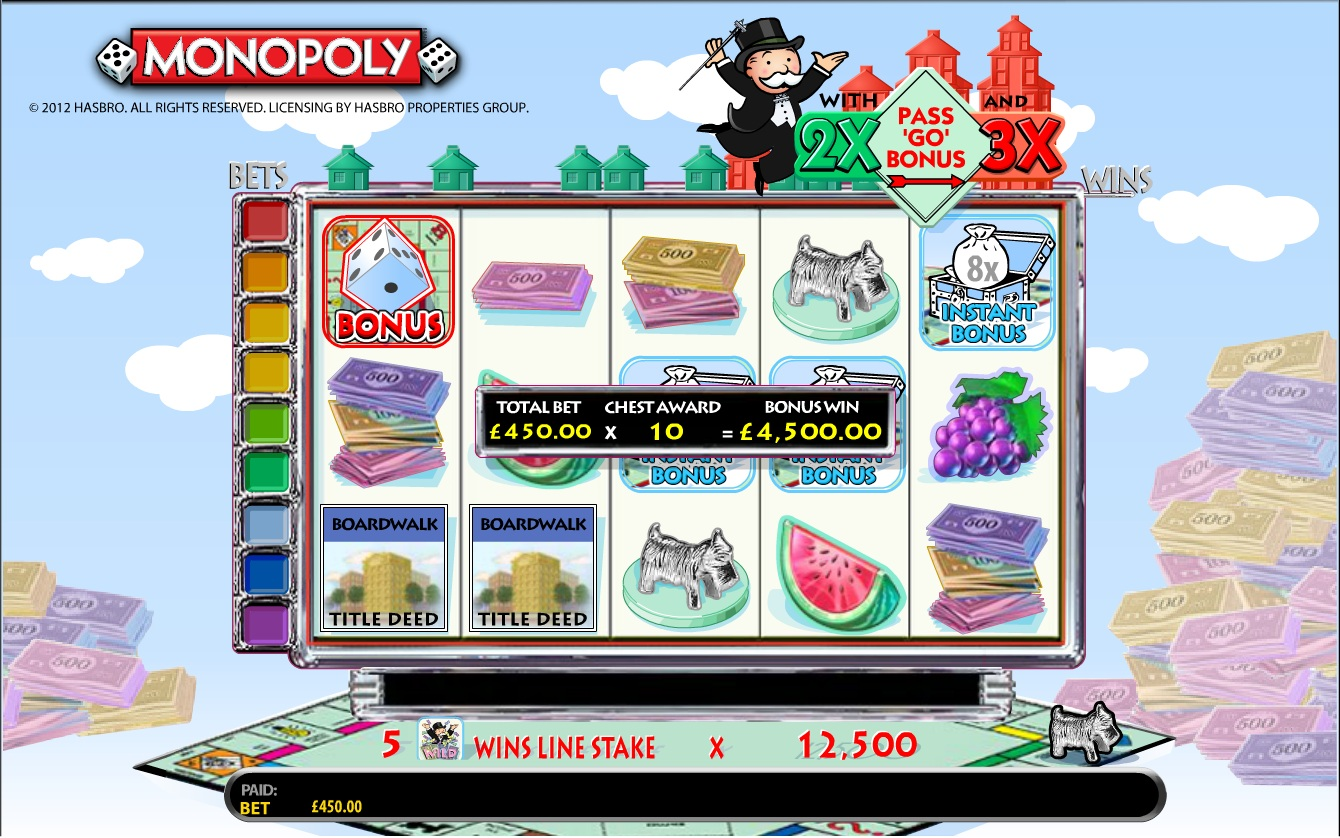 Monopoly Slot screenshot