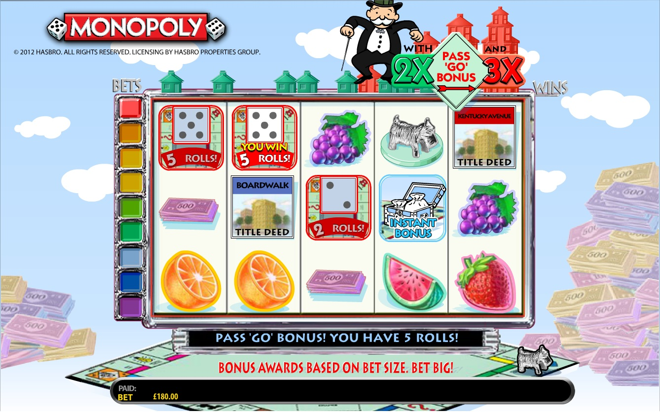 free monopoly slots online game
