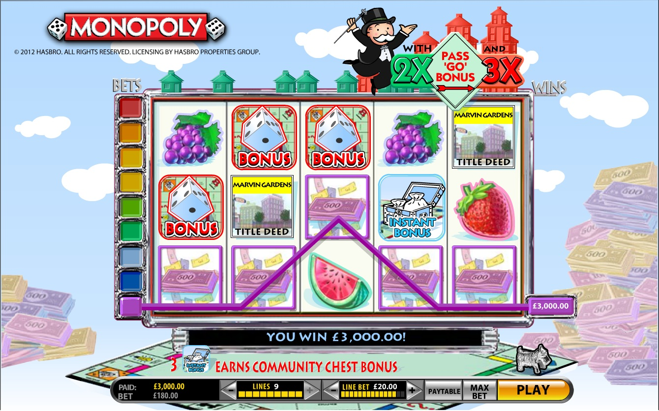 Super Monopoly Money slot - spil online gratis